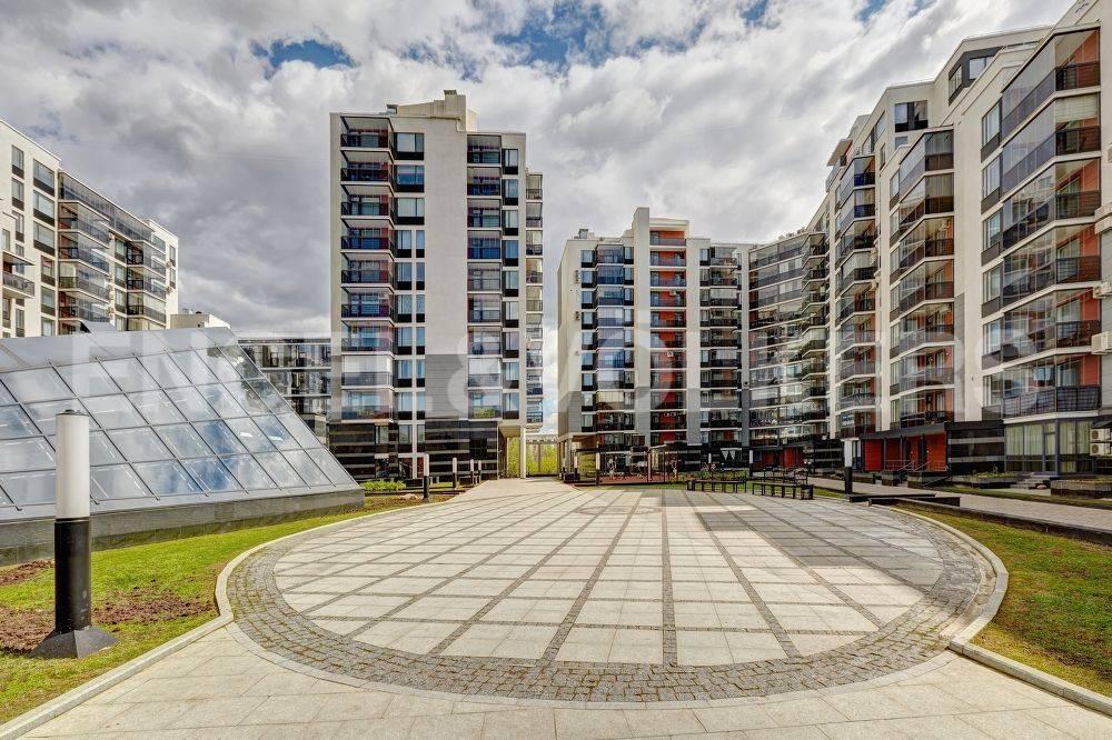 Элитные квартиры в Петроградском районе. Санкт-Петербург, Барочная, 12. Внутренняя территория комплекса