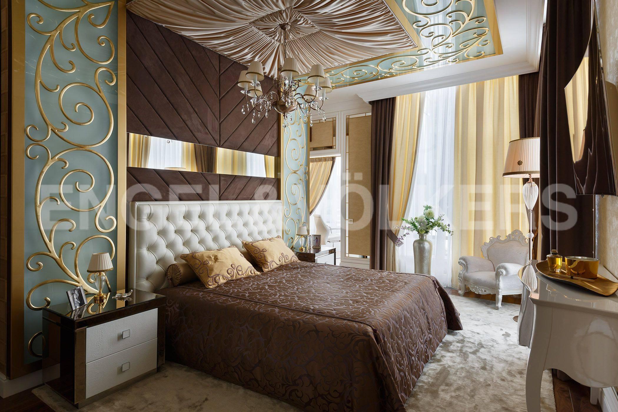 Элитные квартиры на . Санкт-Петербург, Константиновский, 23. Спальня