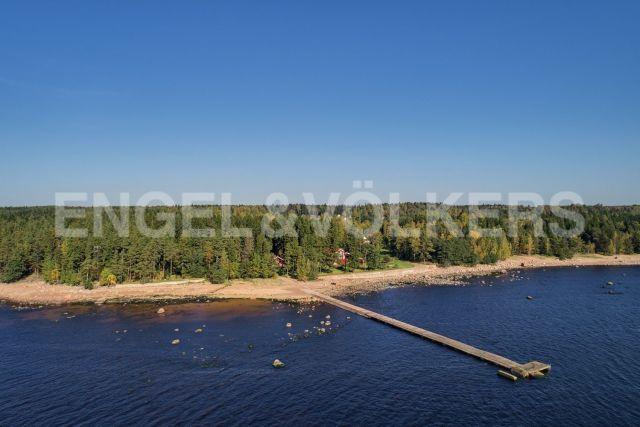 Мыс Флотский - коттедж в живописном месте на первой линии Финского залива