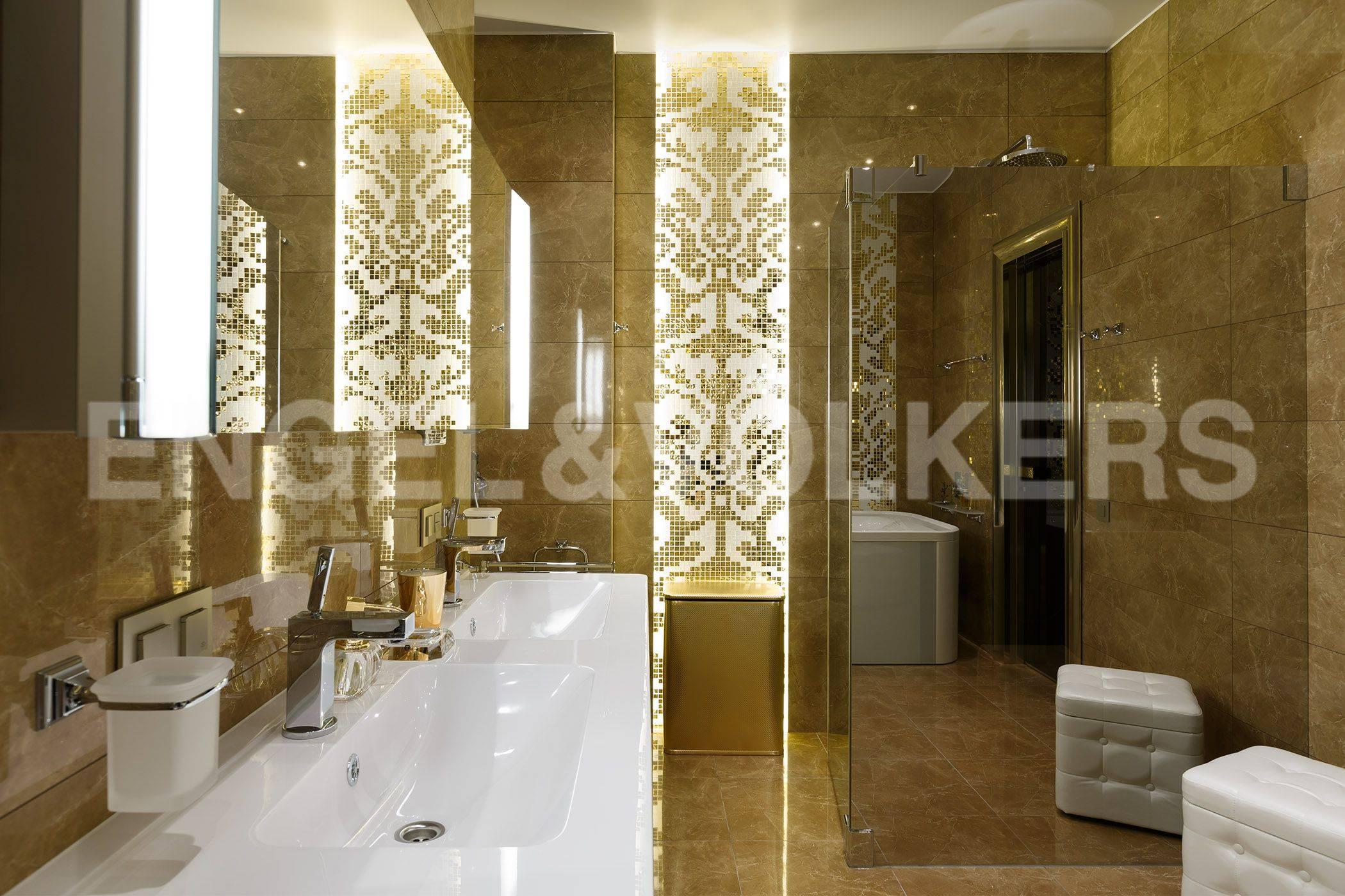 Элитные квартиры на . Санкт-Петербург, Константиновский, 23. Ванная комната
