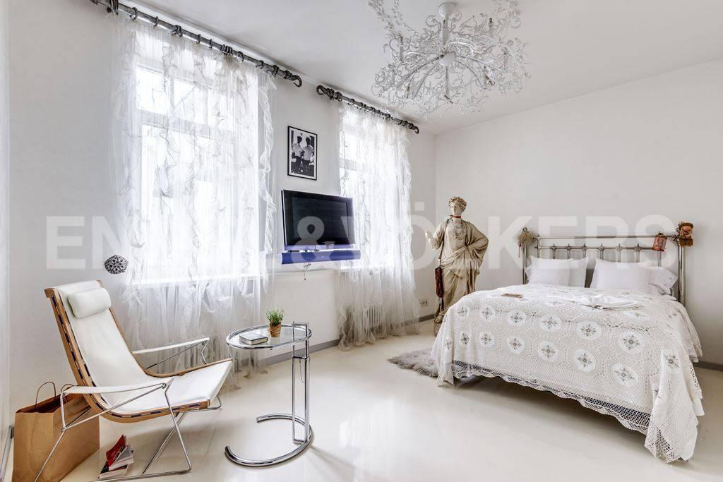 Элитные квартиры в Центральном районе. Санкт-Петербург, Большая Морская, 4. Спальня