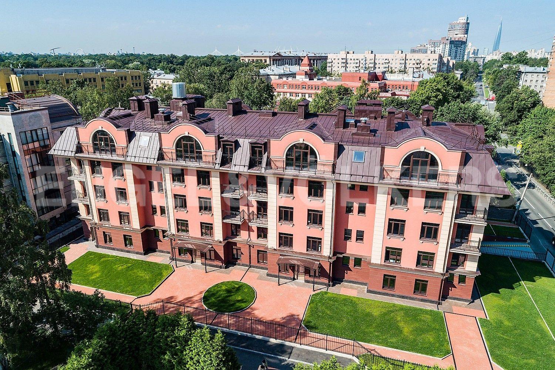 Элитные квартиры в Приморском районе. Санкт-Петербург, Дибуновская улица,  34. Вид с высоты