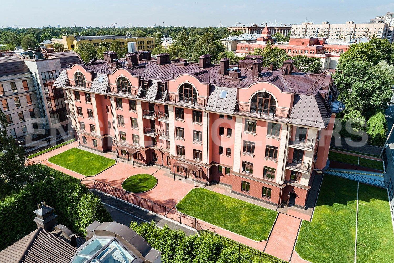 Элитные квартиры в . Санкт-Петербург, Дибуновская улица, 34. Вид с высоты
