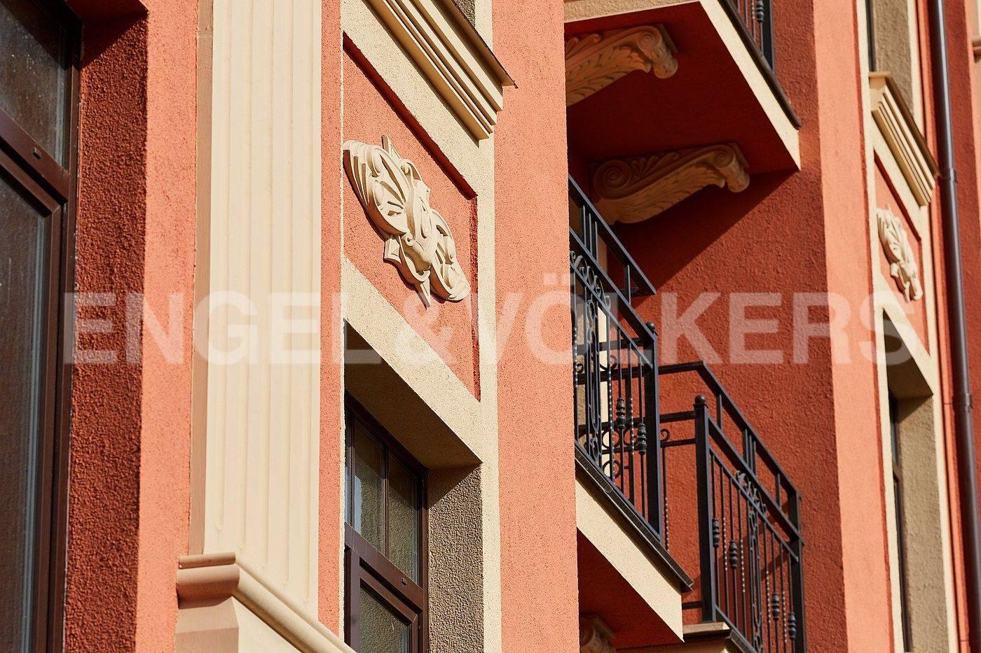 Элитные квартиры в Приморском районе. Санкт-Петербург, Дибуновская улица, 30. Архитектура