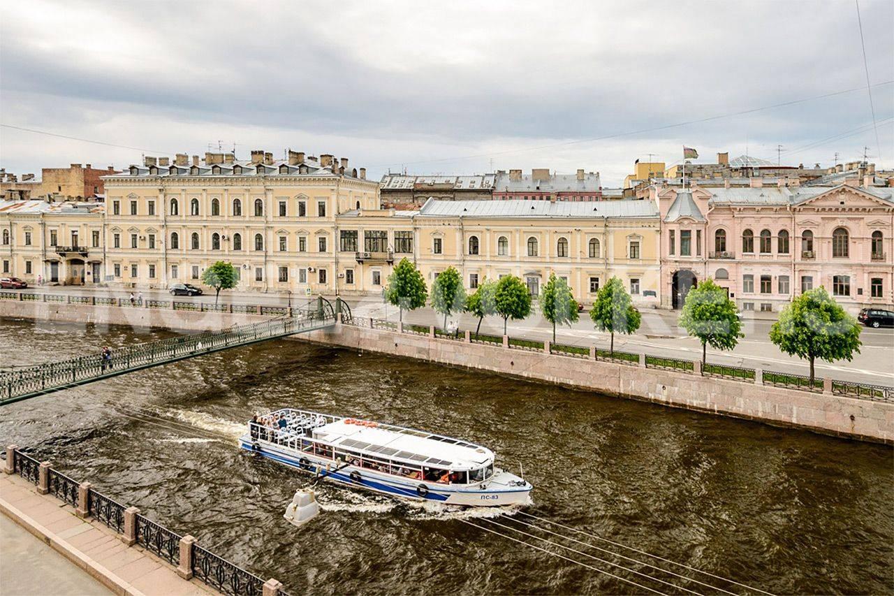 Элитные квартиры в Центральном районе. Санкт-Петербург, Наб. реки Мойки, 84. Главная
