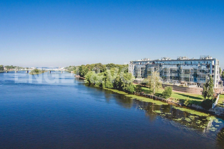 Элитные квартиры на . Санкт-Петербург, Крестовский проспект, 26. Местоположение комплекса