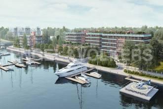 «Императорский яхтъ-клуб» — пентхаус с панорамным видом на Финский залив, Среднюю Невку и Гребной канал