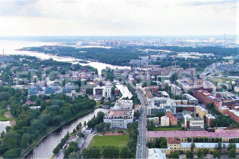Элитные квартиры в Петроградском районе. Санкт-Петербург, Пионерская, 50. Местоположение