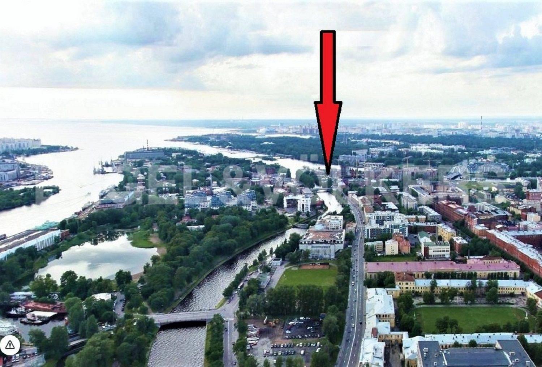 Элитные квартиры в Петроградском районе. Санкт-Петербург, . Местоположение