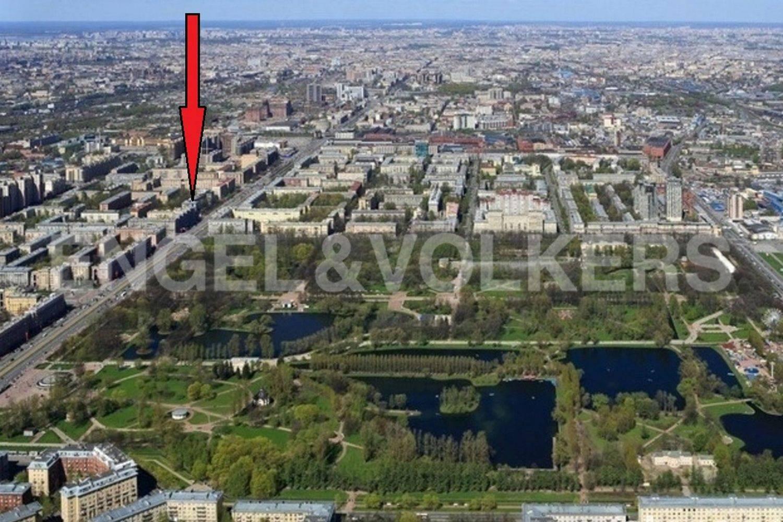 Элитные квартиры в Московском районе. Санкт-Петербург, Московский, 151. Месторасположение