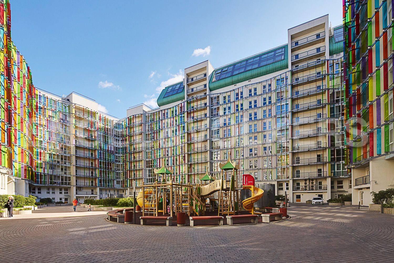 Элитные квартиры в Петроградском районе. Санкт-Петербург, Корпусная улица, 9. Детская площадка