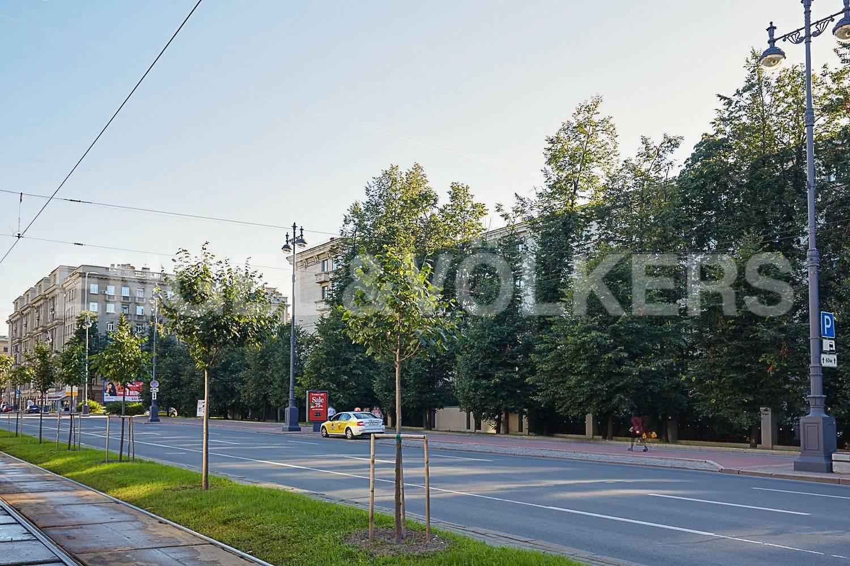 Элитные квартиры в Московском районе. Санкт-Петербург, Московский, 151. Фасад дома