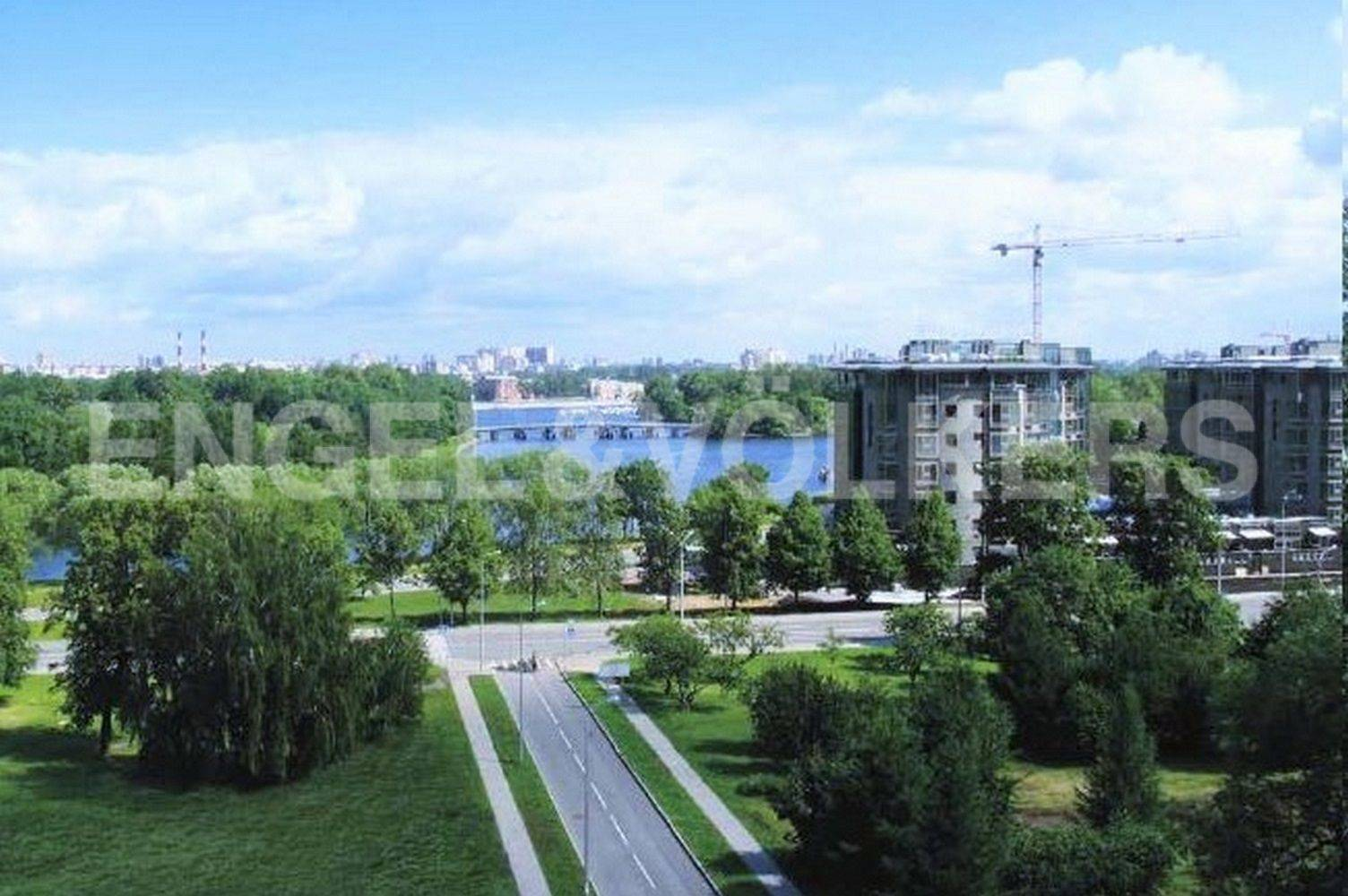 Элитные квартиры на . Санкт-Петербург, Морской пр.,29. Вид из окон
