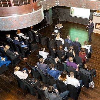 «Финансовая стратегия в условиях экономической турбулентности» - деловая дискуссия в «Особняке Кушелева-Безбородко»