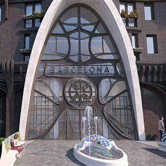 Клубный дом Barcelona: архитектура Антонио Гауди на берегах Невы. Старт продаж.