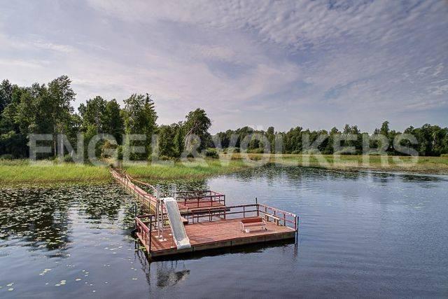 п. Кротово – загородное поместье на берегу Вуоксы