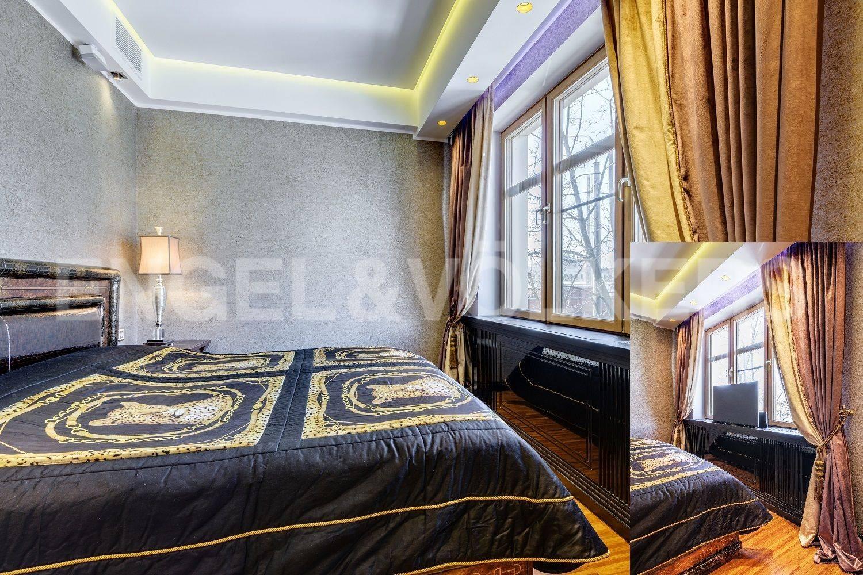 Элитные квартиры на . Санкт-Петербург, Эсперова,1. Спальня