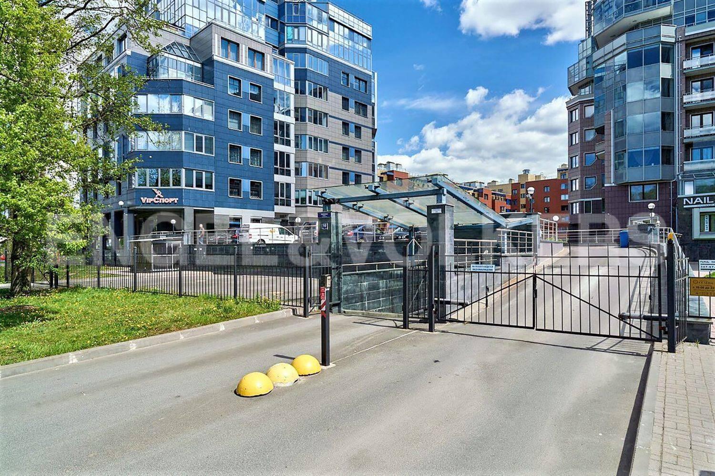 Элитные квартиры на . Санкт-Петербург, Рюхина, 10 . Закрытый двор