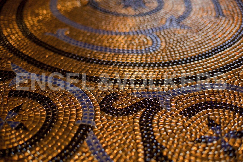 Мозаика в холле