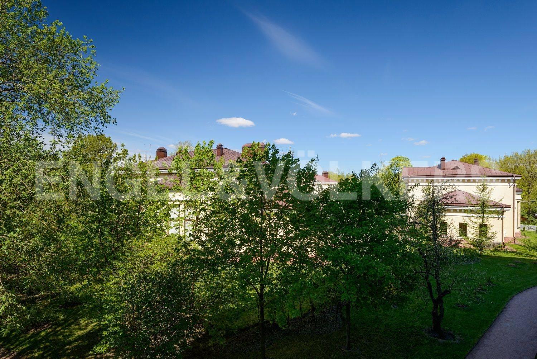 Элитные квартиры на . Санкт-Петербург, Эсперова,1. Вид из окон