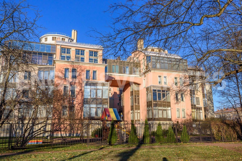 Элитные квартиры на . Санкт-Петербург, Морской пр., 11. Фасад