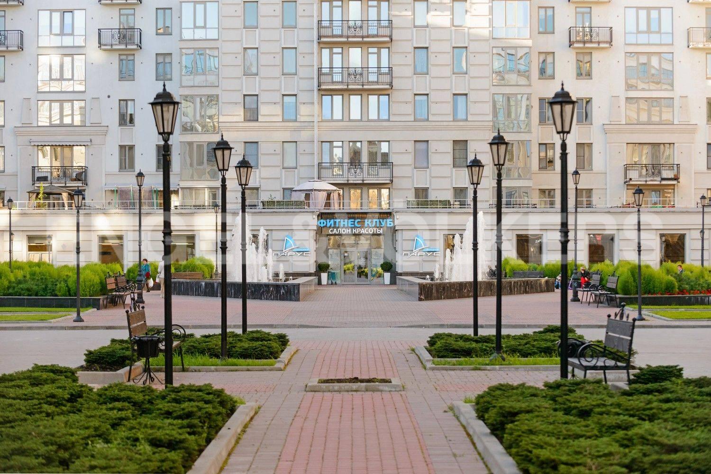 Элитные квартиры в Центральном районе. Санкт-Петербург, Парадная, 3. Фитнес клуб Парус на территории комплекса