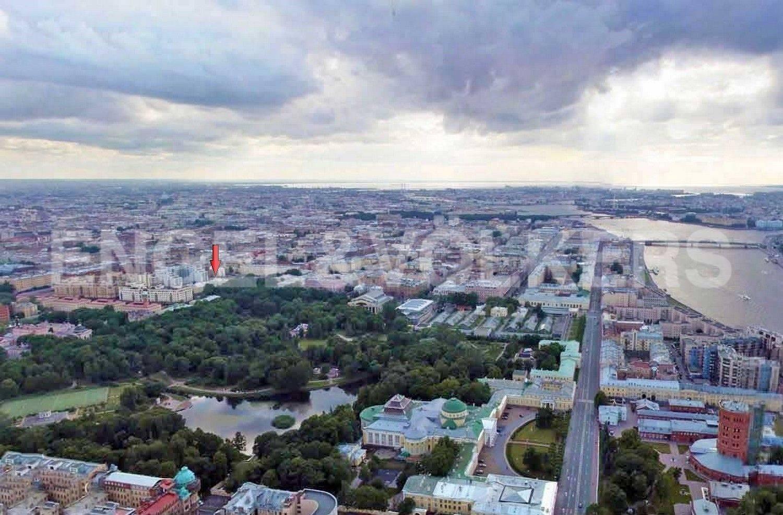 Элитные квартиры в Центральном районе. Санкт-Петербург, ул. Парадная, 3. Месторасположение