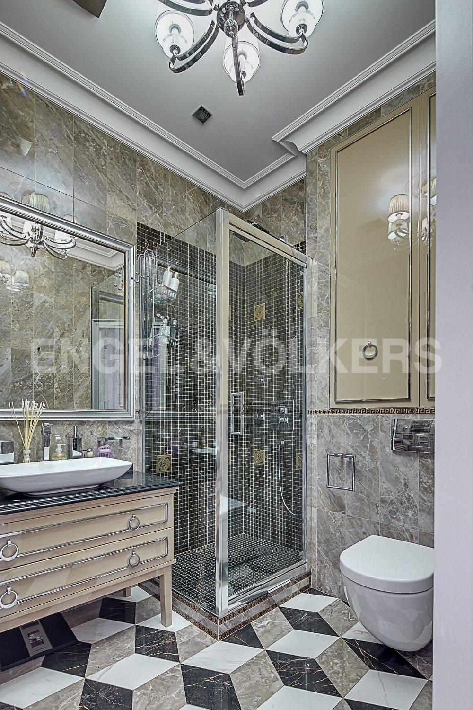 Элитные квартиры в Центральном районе. Санкт-Петербург, ул. Парадная, 3. Вторая ванная комната