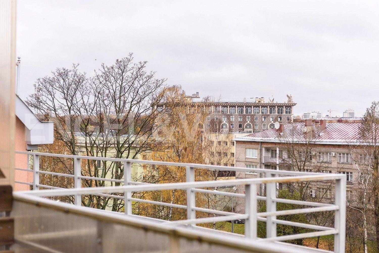 Элитные квартиры на . Санкт-Петербург, Морской пр., 11. Вид с террасы