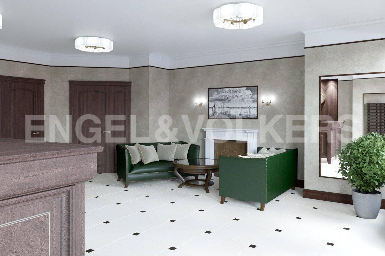 Элитные квартиры в . Санкт-Петербург, Дибуновская улица, 34. Входная группа