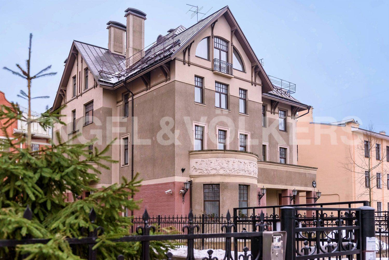 Элитные квартиры на . Санкт-Петербург, Динамо,24 . Фасад