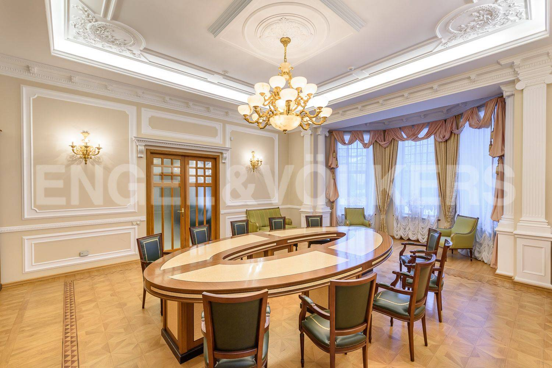 Элитные квартиры на . Санкт-Петербург, Динамо,24 . Конференц-зал, гостиная