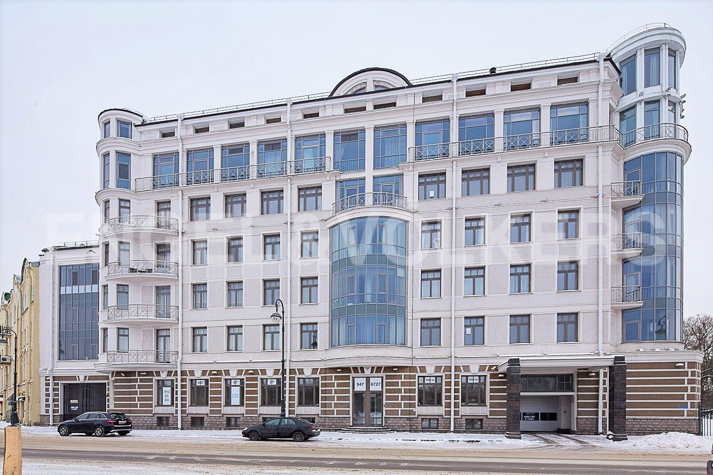 Элитные квартиры на . Санкт-Петербург, Динамовская, 2. Фасад