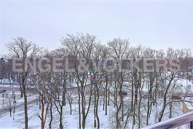 Элитные квартиры на . Санкт-Петербург, Динамовская, 2. Сквер под окнами