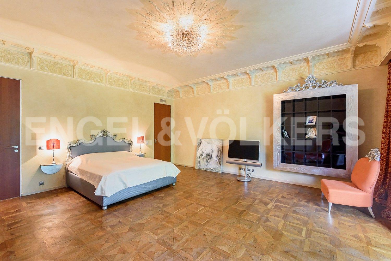 Элитные квартиры на . Санкт-Петербург, Южная дорога, д.5 . Спальня