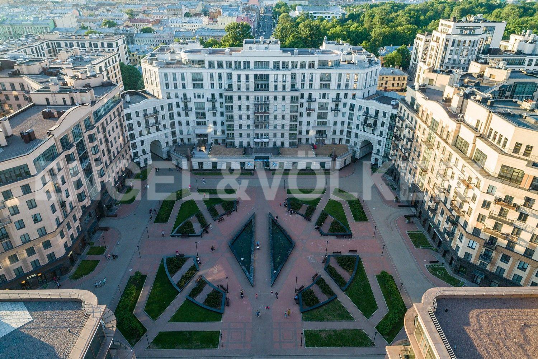 Элитные квартиры в Центральном районе. Санкт-Петербург, Парадная, 3. Вид на комплекс