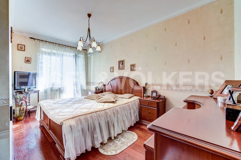 Элитные квартиры в Центральном районе. Санкт-Петербург, Конная, 13. Основная спальня