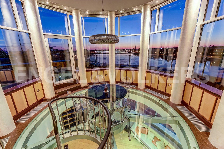 Зона отдыха - ротонда с панорамным остеклением 360