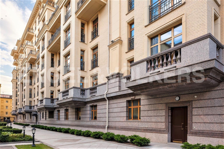 Элитные квартиры в Центральном районе. Санкт-Петербург, наб. реки Фонтанки, 76, корп. 2. Фасад внутренний