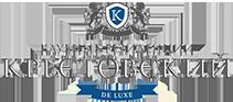 Logo «Крестовский De Luxe» – комплекс клубных резиденций на Крестовском острове
