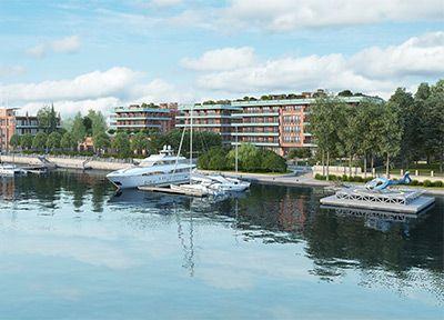 «Императорский яхтъ-клуб» – комплекс резиденций класса De luxe на Крестовском о-ве