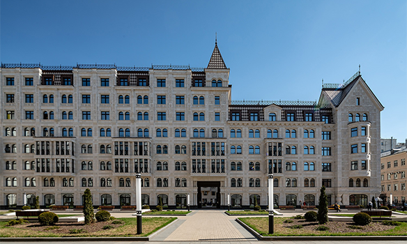 «Русский дом» – усадьба 21 века в центре Санкт-Петербурга