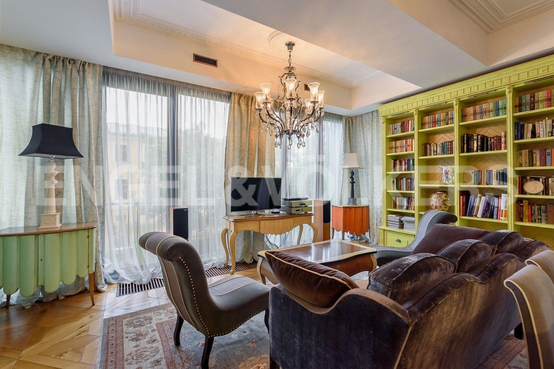 Элитные квартиры на . Санкт-Петербург, Наб. Мартынова, 62. Кухня-гостиная