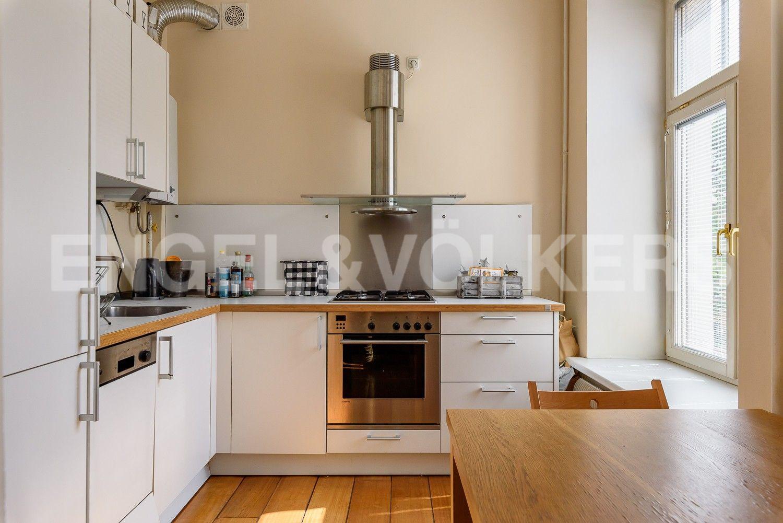 Элитные квартиры в Центральном районе. Санкт-Петербург, Наб. реки Мойки, 6. Столовая с кухней
