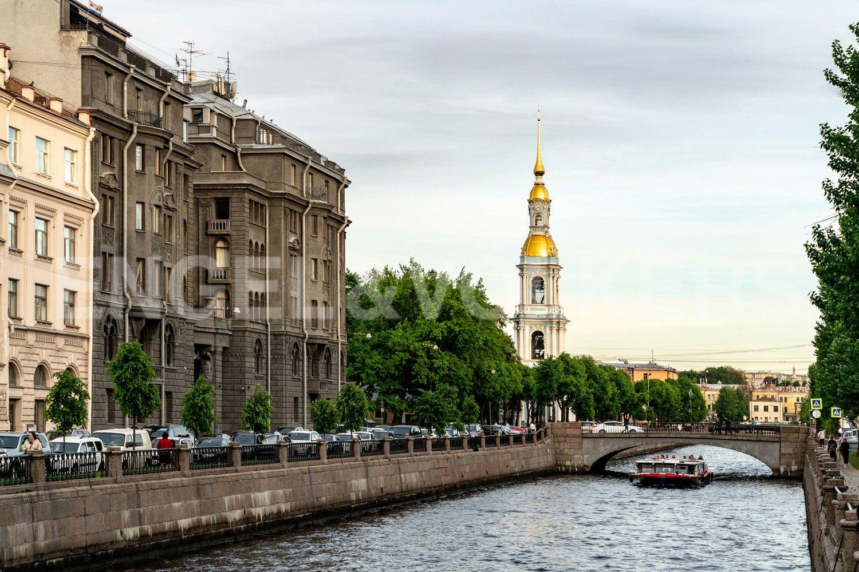 Элитные квартиры в Центральном районе. Санкт-Петербург, Наб. Крюкова канала, 14. Фасад дома