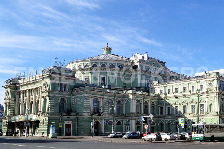 Элитные квартиры в Центральном районе. Санкт-Петербург, Наб. Крюкова канала, 14. Мариинский театр