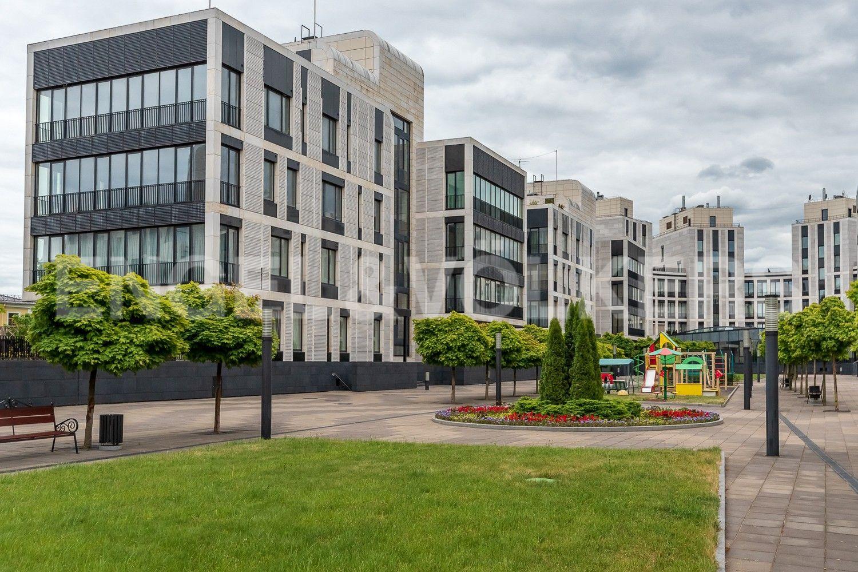 Элитные квартиры на . Санкт-Петербург, Наб. Мартынова, 62. Внутренняя территория