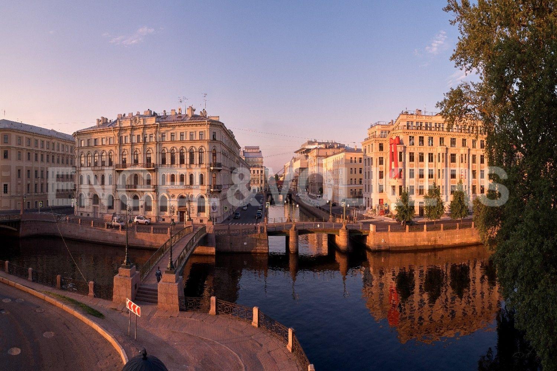 Элитные квартиры в Центральном районе. Санкт-Петербург, Наб. реки Мойки, 102. Великолепные панорамные виды