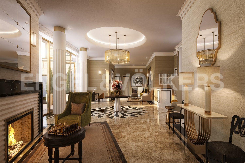 Элитные квартиры в Центральном районе. Санкт-Петербург, Наб. реки Мойки, 102. Внутреннее убранство холлов