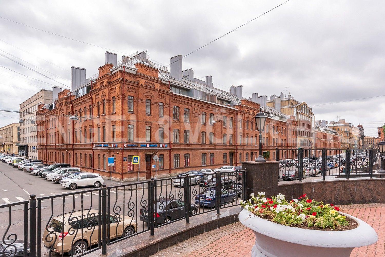 Элитные квартиры в Центральном районе. Санкт-Петербург, Виленский, 15. Дом после реконструкции 2008 года